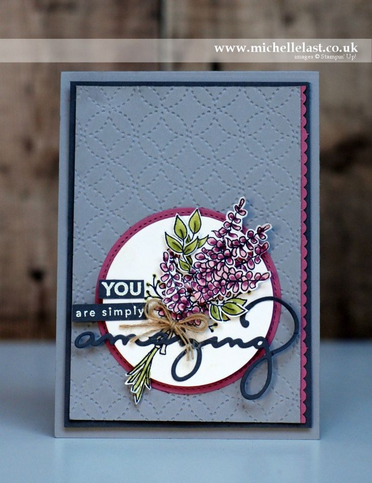 Lots of Lavender FREE from Stampin' Up! Order with Michelle Last UK Demonstrator. #stampinup #cardmaking #stamping