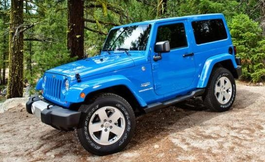 Jeep Wrangler Sahara...THIS COLOR>