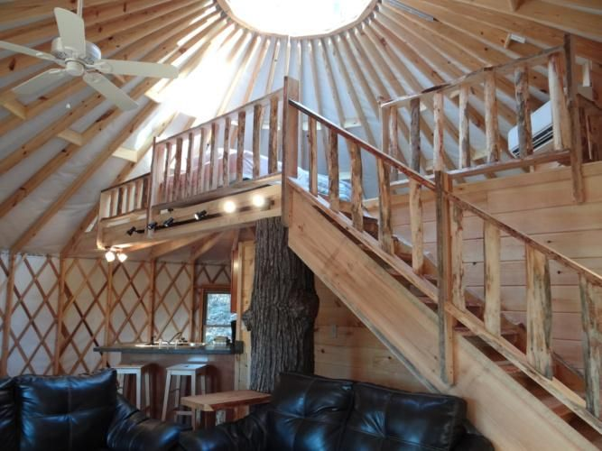 Cliffside Luxury Yurt - In Cliffview Resort - Red River Gorge ...