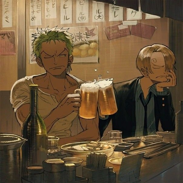 Hot Japan Anime One Piece Luffy Zoro Sanji Wall Scroll Home Decor 21*30CM 006