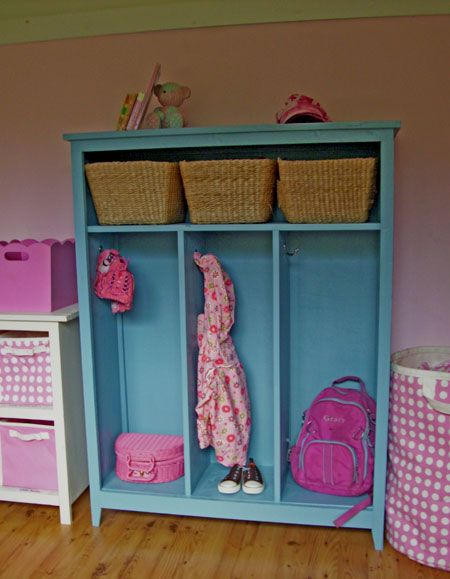 Ana White | Build a Small Locker Cabinet | Free and Easy DIY Project and Furniture Plans