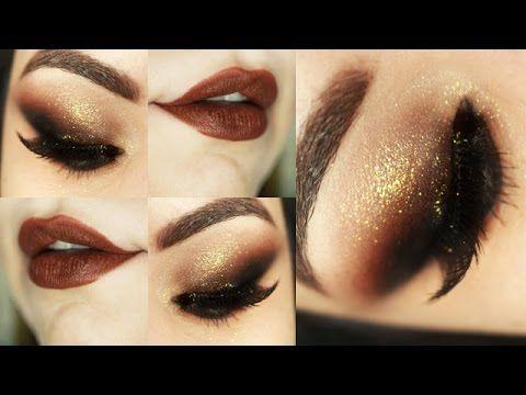 Makeup Tutorial - Olho esfumado na diagonal - Maquiagem Poderosa - YouTube