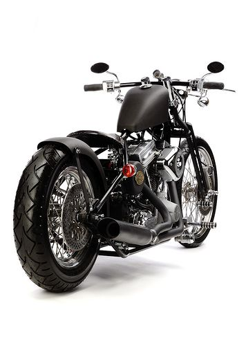 The Brass Balls Bobber Model 1 by Bikers Cafe