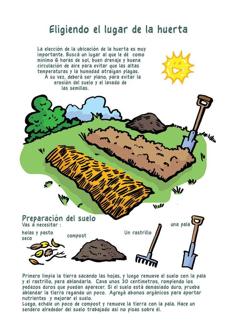 Empezar tu propia huerta a partir de los siguientes tips: eligiendo el lugar de la huerta
