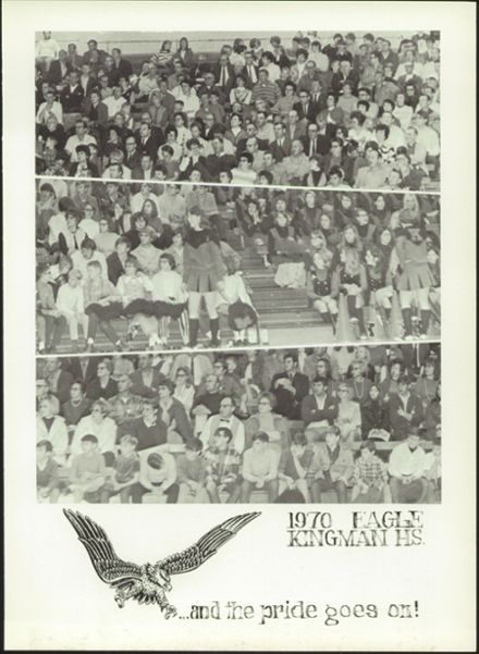 1970 Kingman High School Yearbook Page 7