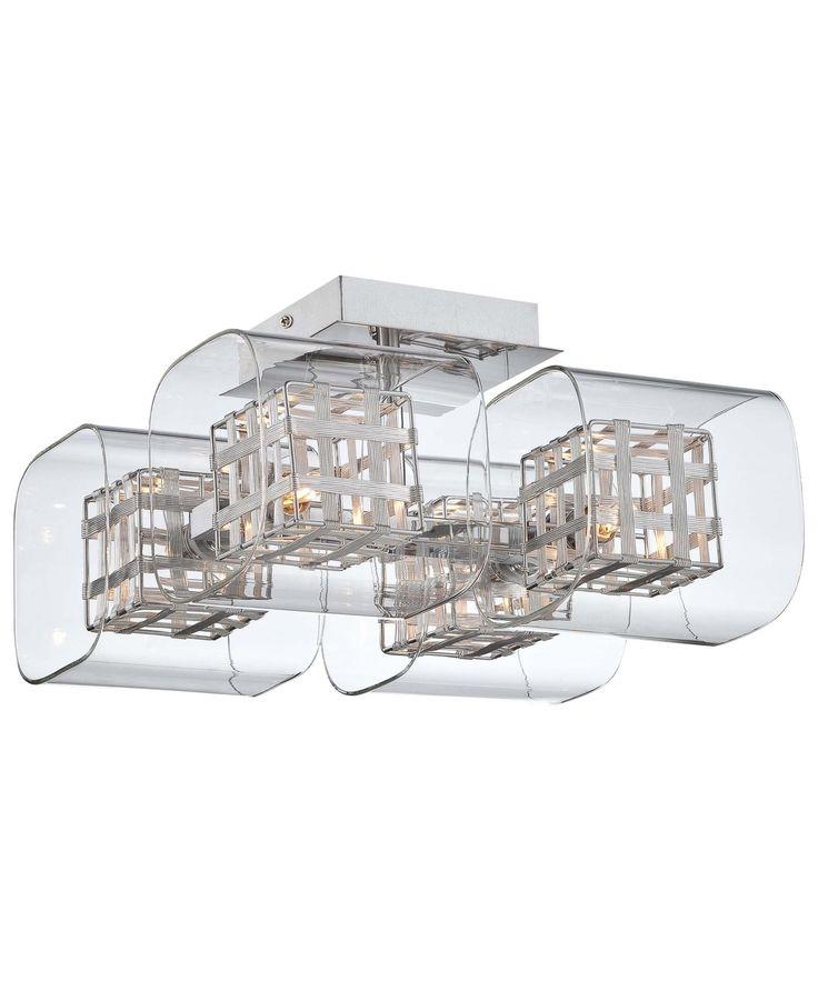 Kovacs P802 Jewel Box 12 Inch Semi Flush Mount| Capitol Lighting 1- 800lighting.  sc 1 st  Pinterest & 80 best kaplan lighting images on Pinterest | Lamp light Pendant ... azcodes.com