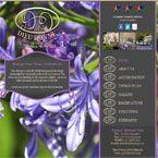 Nuleaf website design for Dieu Donne Boutique guest hotel