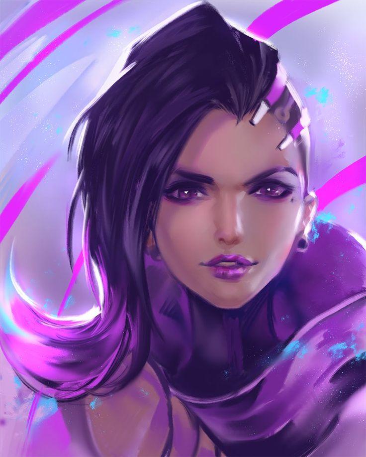"""overwatch-fan-art: """"Sombra by yy6242 """""""