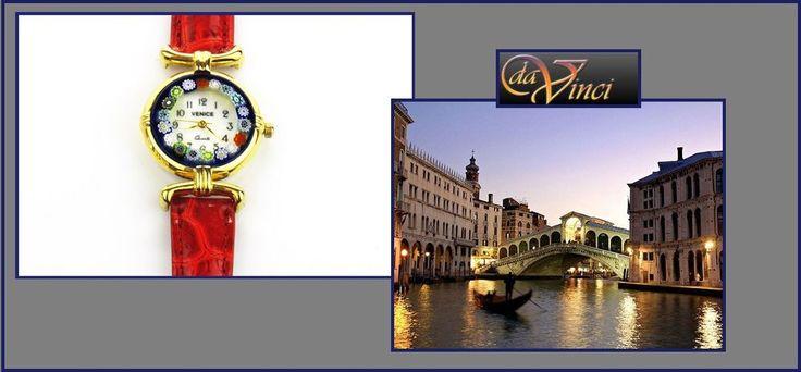 Murano glass watch AUTHENTIC ladies Venetian Glass Murrina Murano Watch