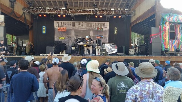 Zach Deputy performing at @tellurideblues Festival. This guys amazing!
