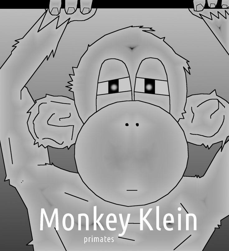 calvin monkey klein ad spoof