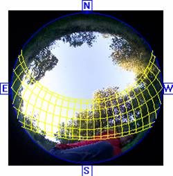 Hemispherical photography - Wikipedia, the free encyclopedia