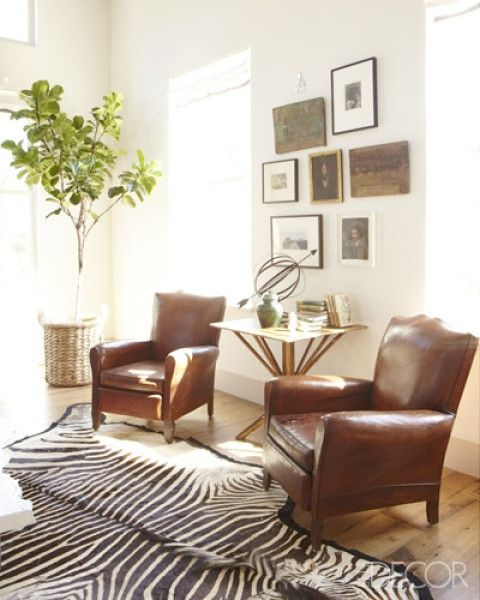 Antique Leather Armchairs - Foter
