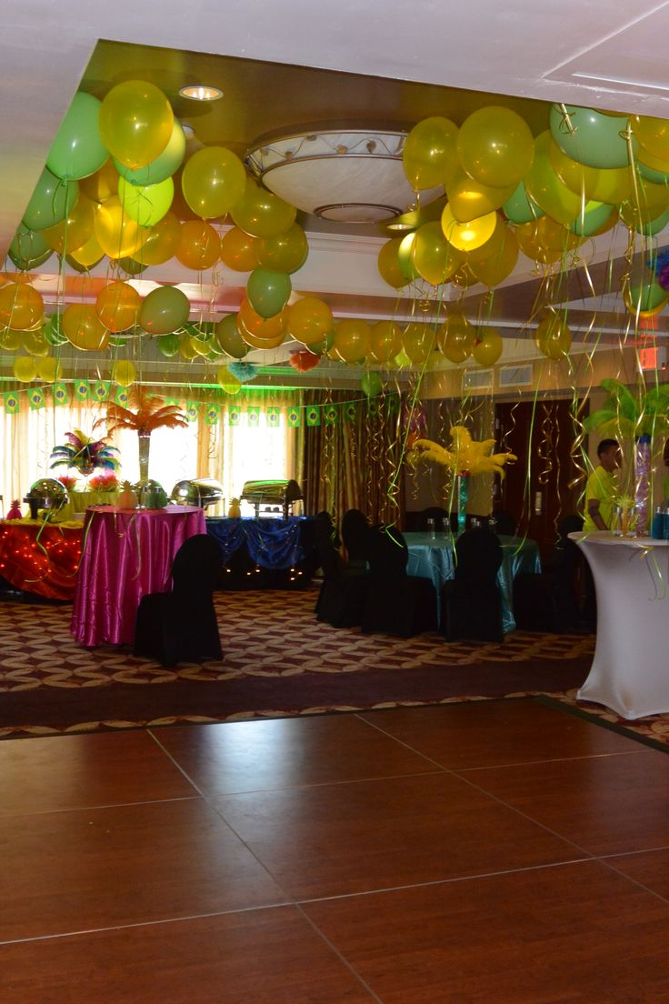 Viana Hotel & Spa 2015 Client Appreciation Party Rio Carnival Theme. Rio Carnival Decorations.