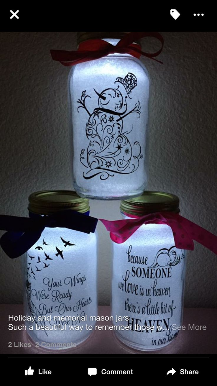 This can be made with mason jars, dollar tree decals and tea lights and tissue paper...:)