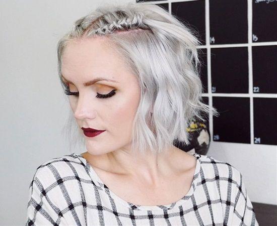Ways To Style Medium Hair: 10 Besten Kurzhaarfrisuren 2018 Bilder Auf Pinterest