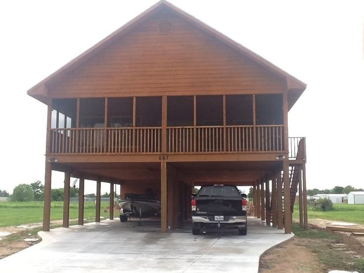 Attractive Modular Homes On Stilts #9: BRAND NEW Cedar House On Stilts - Sleeps 8 - VRBO