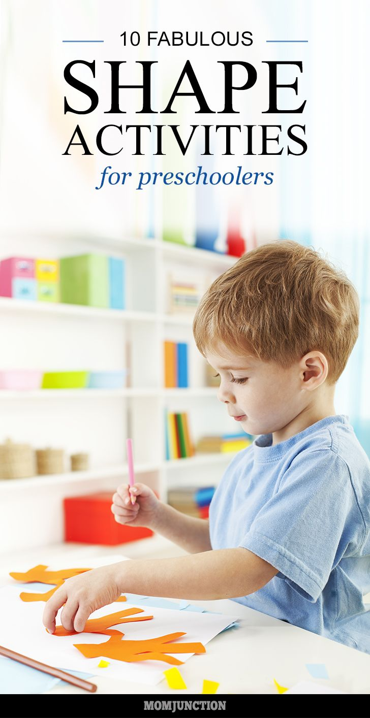 Shape Activities For Preschoolers: Ever wondered how you are able to differentiate amongst the innumerable number of shapes prevailing? Well, it is during your childhood that you learn about the different shapes and learn to identify them.Let's explore different fun ways for teaching shapes to preschoolers here #Activities