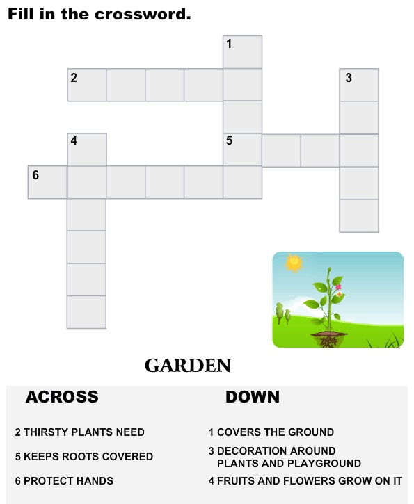 instruction of crossword game