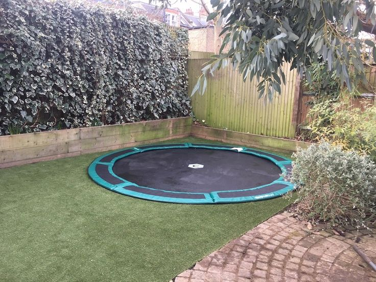 8ft capital inground trampoline in 2020 in ground