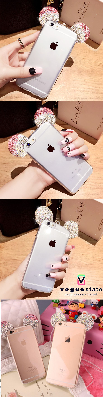 Beautiful Cute Mouse Ears iPhone Case