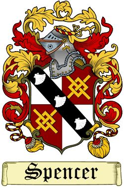 Spencer Family Crest and History