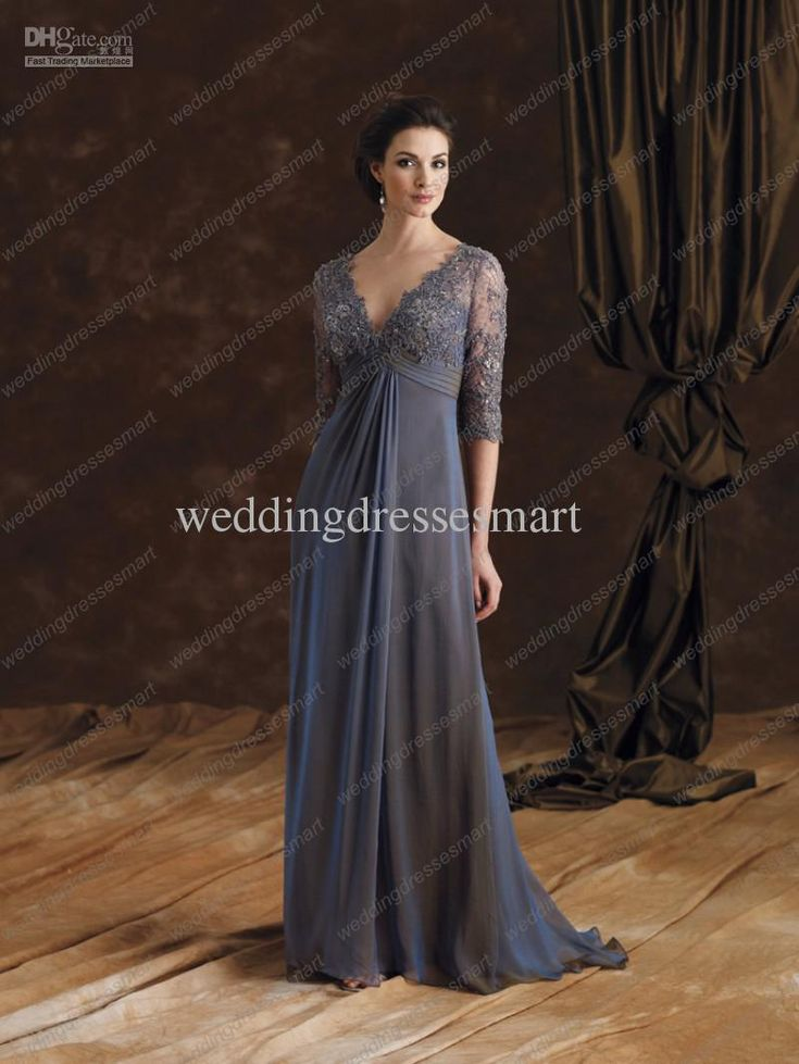elegant lace v-neck dress