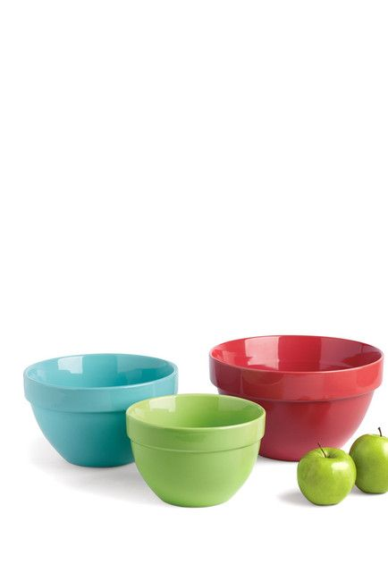 Tropical Brights Mixing Bowls - Set of 3