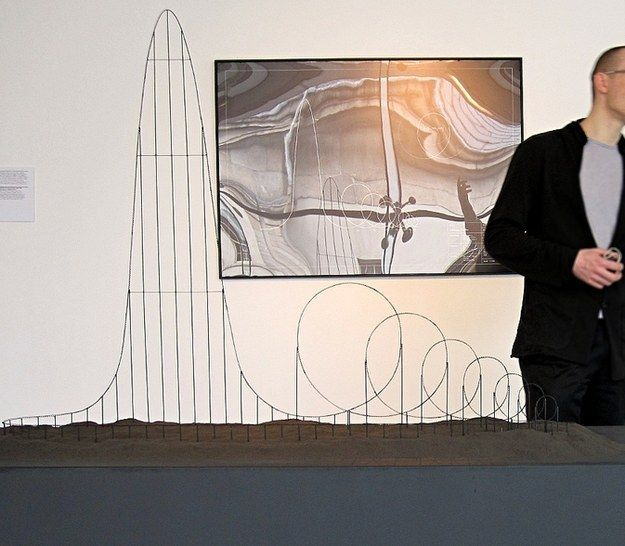 """The Euthanasia Coaster A roller coaster designed to kill every person who rides it with """"elegance and euphoria."""" It's like Roller Coaster Tycoon come to life!"""