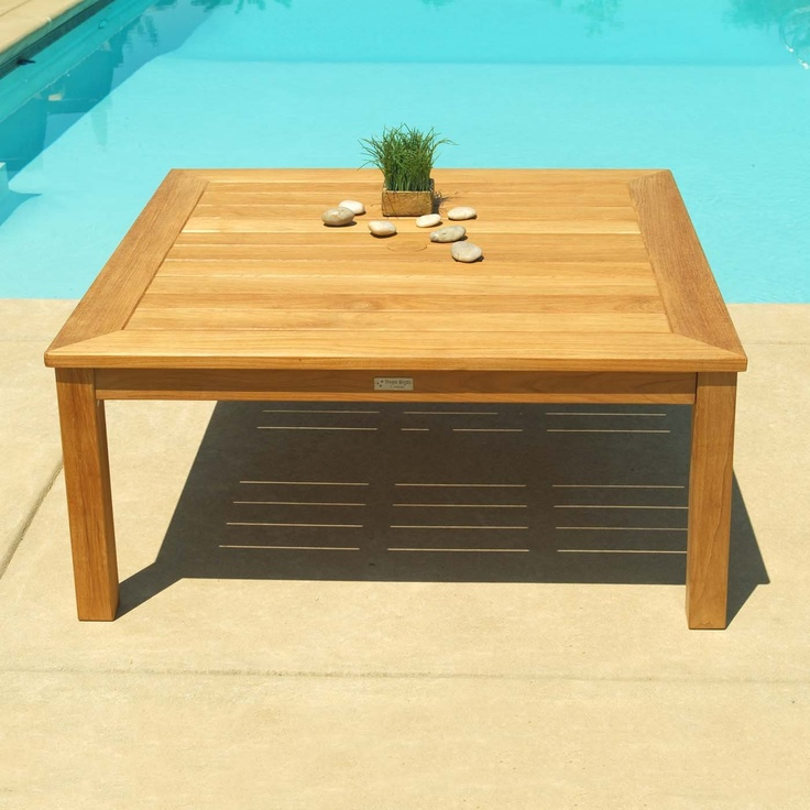 Three Birds Casual NP42CF Newport Square Outdoor Coffee Table Part 41