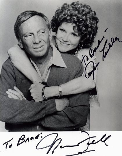 Norman Fell, Audra Lindley