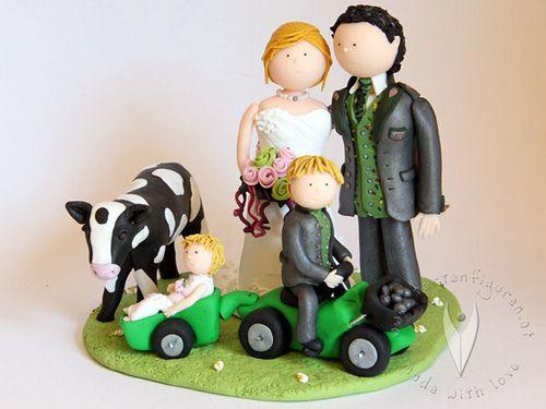 ... Hochzeitstortenfiguren on Pinterest  Poodles, Wedding cake toppers