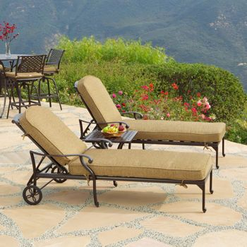 26 best patio furniture images on pinterest dining room for Breezy beach chaise