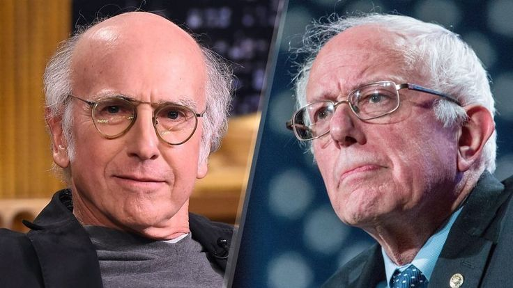 "So, to provide some entertainment before the big football game today, check out the great Larry David as Democratic candidate Bernie Sanders on ""Saturday Night Live."""