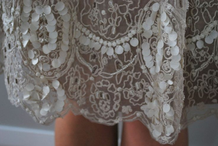Amazing detail on my Trelise Cooper dress for Melbourne Cup this year