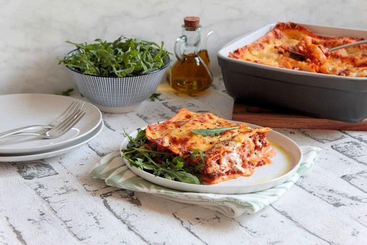 Lasagnes à la Bolognaise, Retrouvez des recettes gourmandes et légères avec Daylice de Bridélice : trouvez l'inspiration pour vous simplifier le quotidien !