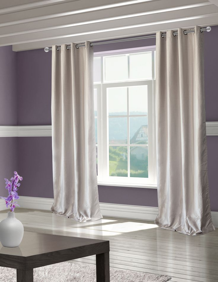 Classic look with a contemporary update. #HomeDecor #Decor #Curtains