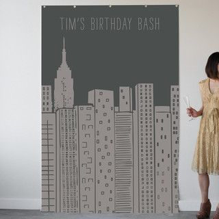 'Rustic Sparkle Personalizable Photo Backdrops', on Minted.com