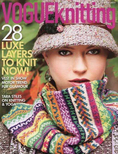 Vogue Knitting Winter 2013-2014 - Monika Romanoff - Picasa Web Albums