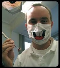 I would love to see my dentist like this