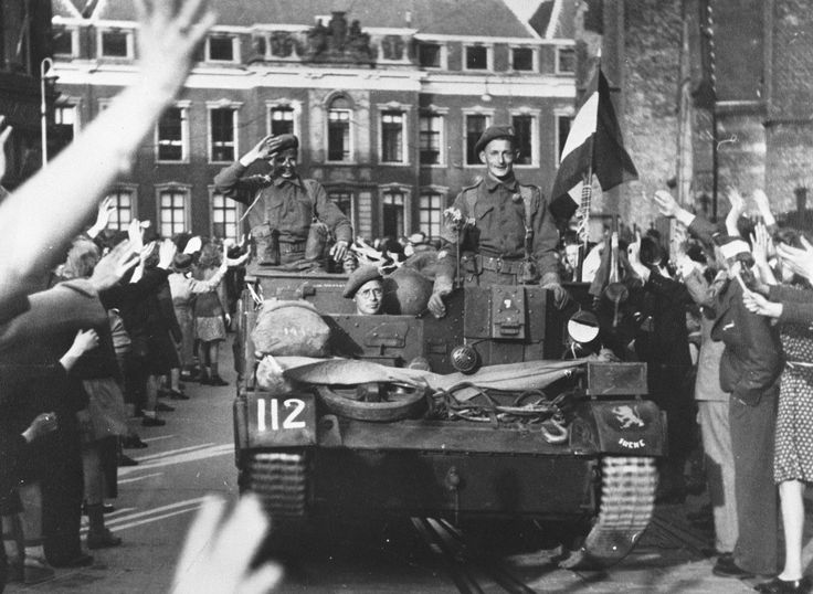 On the 5th of May 1945 the Canadian allied forces made an end to WWII in the Netherlands!