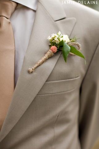 love the jute wrap    #Tacori #YourBestFriendsWedding