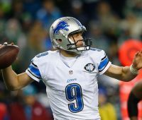 Jim Caldwell on Matthew Stafford: He's on the rise