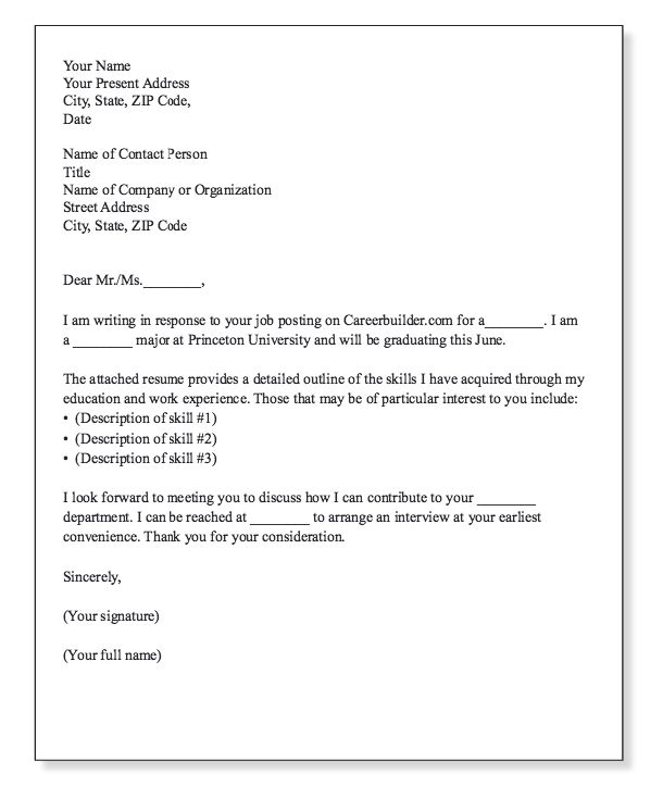 Example Of Cover Letter Template - http\/\/resumesdesign - cover letter signature