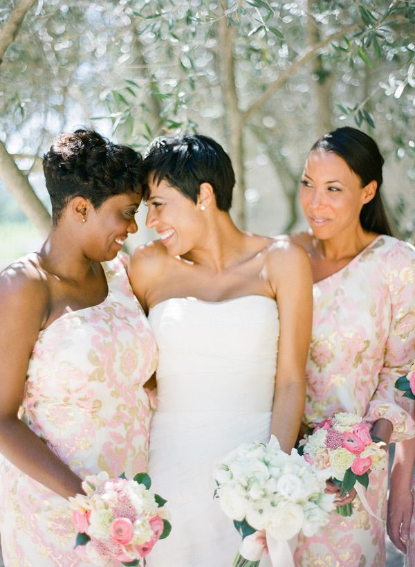 lovely bridesmaids. rustic chic. kt merry photography ...