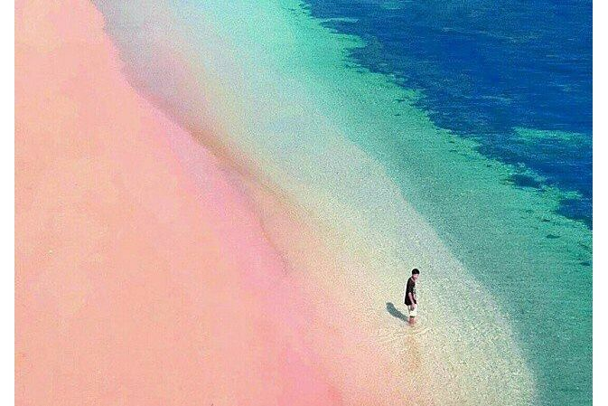 There's A Beautiful PINK Beach Near Bali Surprisingly Few Singaporeans Know About