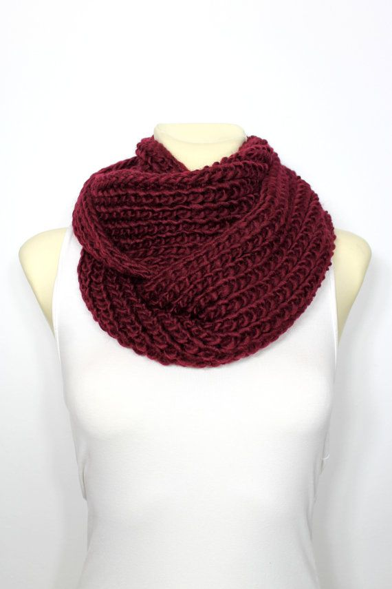 Hey, I found this really awesome Etsy listing at https://www.etsy.com/listing/204973382/knit-scarf-infinity-scarf-chunky-knit