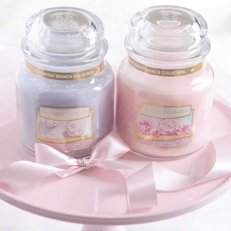 Sweet Spring Scents Yankee Candle Sunday Brunch Collection In