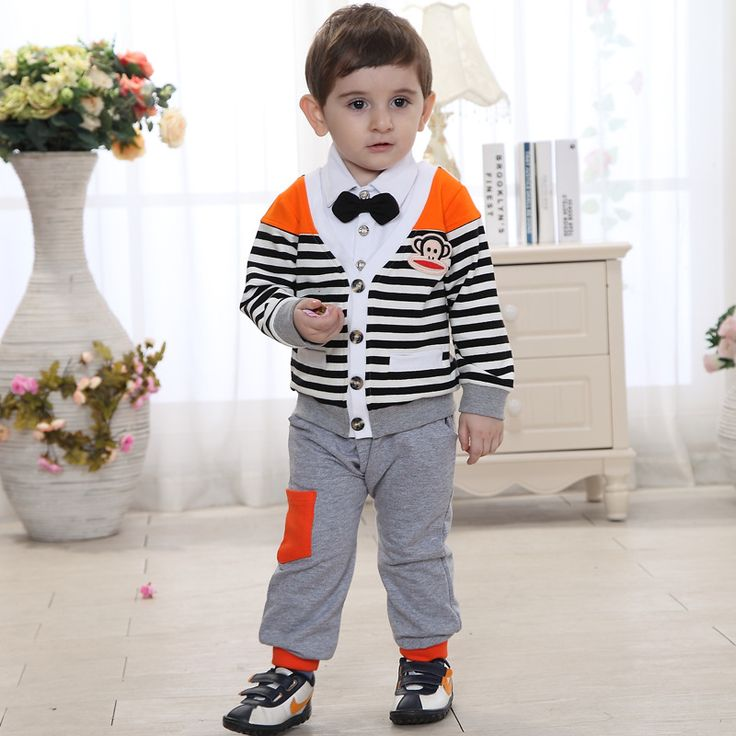 Cheap suits suit, Buy Quality suit ribbon directly from China suit umbrella Suppliers:  2015 Brand spring and autumn Children's clothing set boys Korean cotton striped gentleman clothes set kids casual cloth