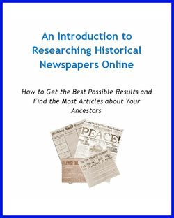 15 Huge Lists of Free Online Newspaper Collections for Genealogy - The Ancestor Hunt
